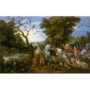 "D-Toys (75253) - Pieter Brueghel the Elder: ""Noah's Ark"" - 1000 pieces puzzle"