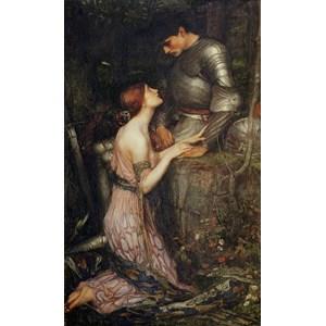 "D-Toys (75055) - John William Waterhouse: ""Lamia"" - 1000 pieces puzzle"