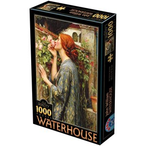 """D-Toys (75062) - John William Waterhouse: """"The Soul of the Rose"""" - 1000 pieces puzzle"""