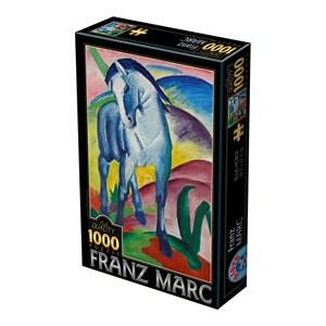 """D-Toys (75147) - Franz Marc: """"Blue Horse"""" - 1000 pieces puzzle"""