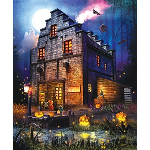 """SunsOut (52065) - Joel Christopher Payne: """"Firefly Inn"""" - 1000 pieces puzzle"""