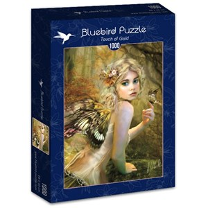 "Bluebird Puzzle (70174) - Bente Schlick: ""Touch of Gold"" - 1000 pieces puzzle"