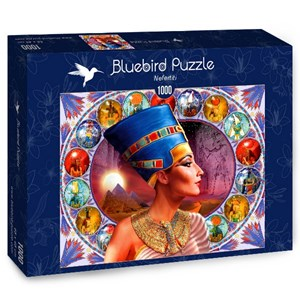 "Bluebird Puzzle (70131) - Andrew Farley: ""Nefertiti"" - 1000 pieces puzzle"