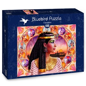 "Bluebird Puzzle (70129) - Andrew Farley: ""Cleopatra"" - 1000 pieces puzzle"