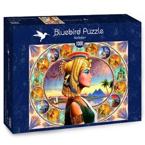 "Bluebird Puzzle (70130) - Andrew Farley: ""Nefertari"" - 1000 pieces puzzle"