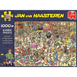 "Jumbo (19073) - Jan van Haasteren: ""The Toy Shop"" - 1000 pieces puzzle"