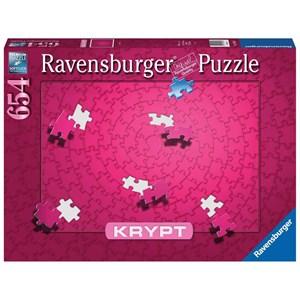 """Ravensburger (16564) - """"Krypt Pink"""" - 654 pieces puzzle"""