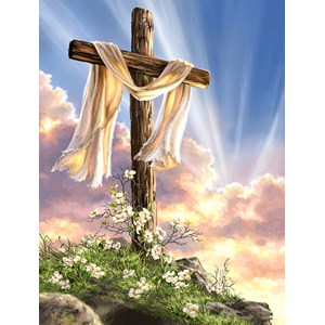 "SunsOut (57111) - Dona Gelsinger: ""He is Risen"" - 500 pieces puzzle"