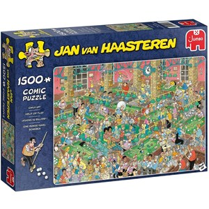 "Jumbo (20026) - Jan van Haasteren: ""Chalk Up!"" - 1500 pieces puzzle"