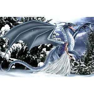 """SunsOut (67696) - Nene Thomas: """"Ice Dragon"""" - 1000 pieces puzzle"""
