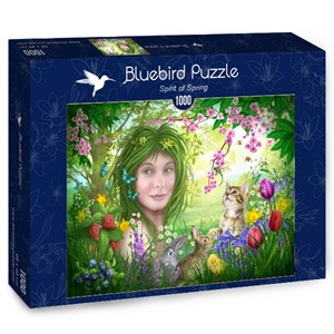 "Bluebird Puzzle (70182) - Ciro Marchetti: ""Spirit of Spring"" - 1000 pieces puzzle"