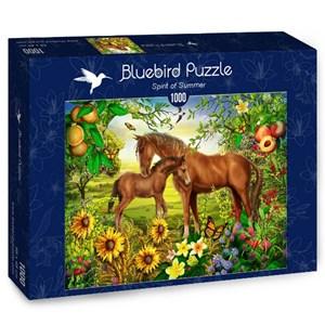 "Bluebird Puzzle (70186) - Ciro Marchetti: ""Spirit of Summer"" - 1000 pieces puzzle"