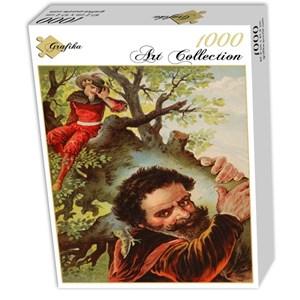 "Grafika (00204) - Carl Offterdinger: ""The Valiant Little Tailor"" - 1000 pieces puzzle"