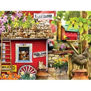 """SunsOut (34742) - Lori Schory: """"The Milk House"""" - 1000 pieces puzzle"""