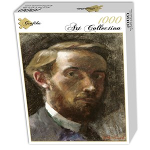 "Grafika (01807) - Edouard Vuillard: ""Self-Portrait, Aged 21, 1889"" - 1000 pieces puzzle"