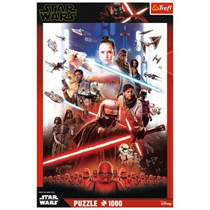 "Trefl (10553) - ""Star Wars 9"" - 1000 pieces puzzle"
