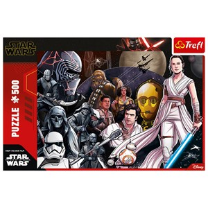 "Trefl (37375) - ""Star Wars 9"" - 500 pieces puzzle"