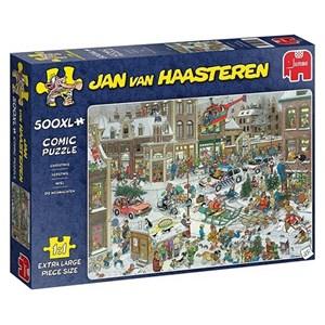 """Jumbo (20020) - Jan van Haasteren: """"Christmas"""" - 500 pieces puzzle"""