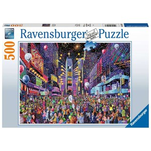 """Ravensburger (16423) - """"New Years in Times Square"""" - 500 pieces puzzle"""