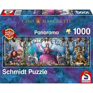 "Schmidt Spiele (59612) - Ciro Marchetti: ""Ice Palace"" - 1000 pieces puzzle"