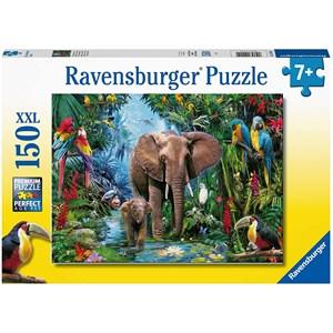 """Ravensburger (12901) - """"Safari Animals"""" - 150 pieces puzzle"""