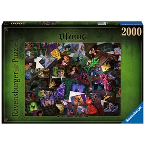 "Ravensburger (16506) - ""Disney Villainous"" - 2000 pieces puzzle"