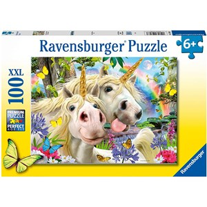 """Ravensburger (12898) - """"Don't Worry, Be Happy"""" - 100 pieces puzzle"""