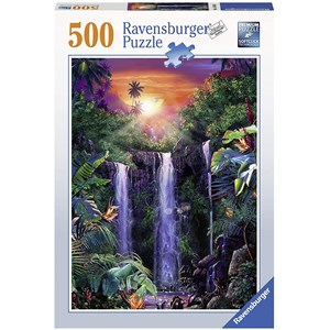 """Ravensburger (14840) - """"Magical Waterfall"""" - 500 pieces puzzle"""