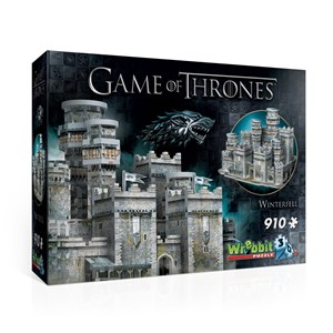 "Wrebbit (W3D-2018) - ""Game of Thrones, Winterfell"" - 910 pieces puzzle"