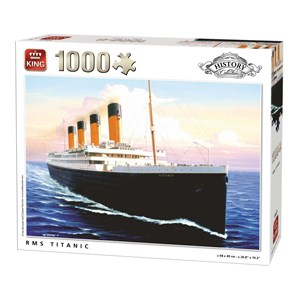 "King International (05621) - ""RMS Titanic"" - 1000 pieces puzzle"