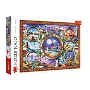 "Trefl (10584) - ""Lighthouses"" - 1000 pieces puzzle"