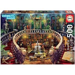 """Educa (18479) - """"Enigmatic, Antique Library"""" - 500 pieces puzzle"""
