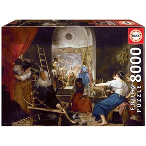 """Educa (18584) - Diego Velázquez: """"The Spinners"""" - 8000 pieces puzzle"""