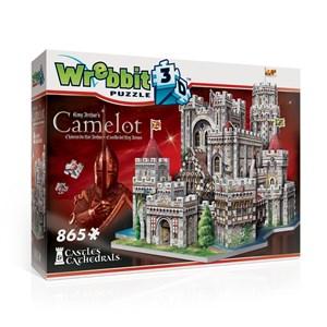 """Wrebbit (W3D-2016) - """"King Arthur's Camelot"""" - 865 pieces puzzle"""