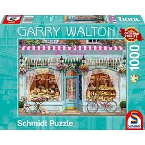 """Schmidt Spiele (59603) - Garry Walton: """"Bakery"""" - 1000 pieces puzzle"""