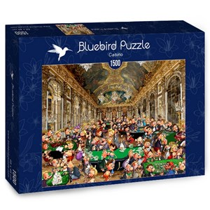 "Bluebird Puzzle (70263) - François Ruyer: ""Casino"" - 1500 pieces puzzle"