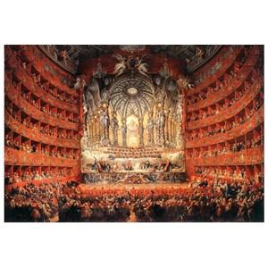 """Impronte Edizioni (252) - Giovanni Paolo Panini: """"Musical feast given by the cardinal de La Rochefoucauld"""" - 1000 pieces puzzle"""