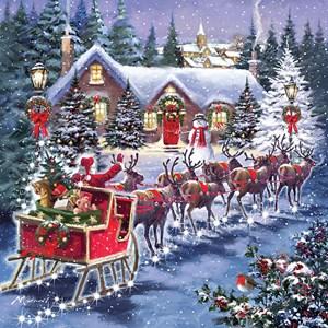 "Otter House Puzzle (74142) - ""Santa's Sleigh"" - 1000 pieces puzzle"