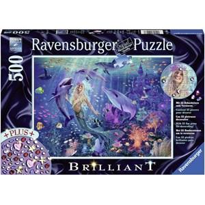 "Ravensburger (14993) - ""Enchanting Mermaid"" - 500 pieces puzzle"