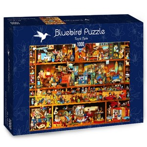 "Bluebird Puzzle (70215) - Gabriel Gressie: ""Toys Tale"" - 1000 pieces puzzle"