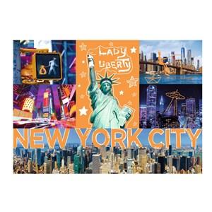 """Trefl (10579) - """"New-York Neon City"""" - 1000 pieces puzzle"""