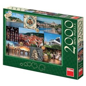 """Dino (56112) - """"Prague, Czech Republic"""" - 2000 pieces puzzle"""