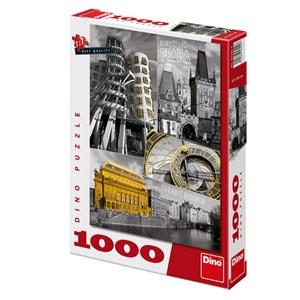 """Dino (53242) - """"Prague, Czech Republic"""" - 1000 pieces puzzle"""