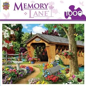 """MasterPieces (81740) - """"Garden Bridge"""" - 1000 pieces puzzle"""