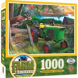 """MasterPieces (71920) - """"Deer Crossing"""" - 1000 pieces puzzle"""