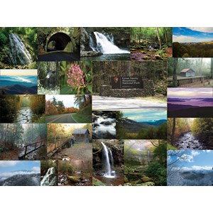 """SunsOut (56380) - """"The Great Smoky Mountains"""" - 1000 pieces puzzle"""