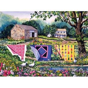 """SunsOut (14610) - Diane Phalen: """"Summer Breeze"""" - 1000 pieces puzzle"""