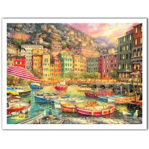 "Pintoo (h2057) - Chuck Pinson: ""Vibrance of Italy"" - 1200 pieces puzzle"