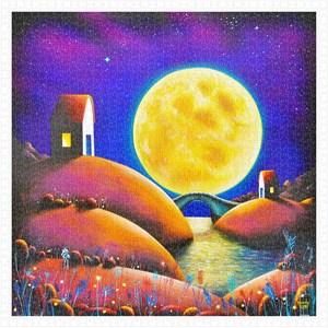 "Pintoo (h2132) - Darren Mundy: ""Golden Moon River"" - 1600 pieces puzzle"