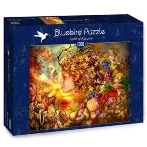 "Bluebird Puzzle (70180) - Ciro Marchetti: ""Spirit of Autumn"" - 1000 pieces puzzle"